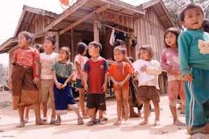 Bane Huay Palam kids