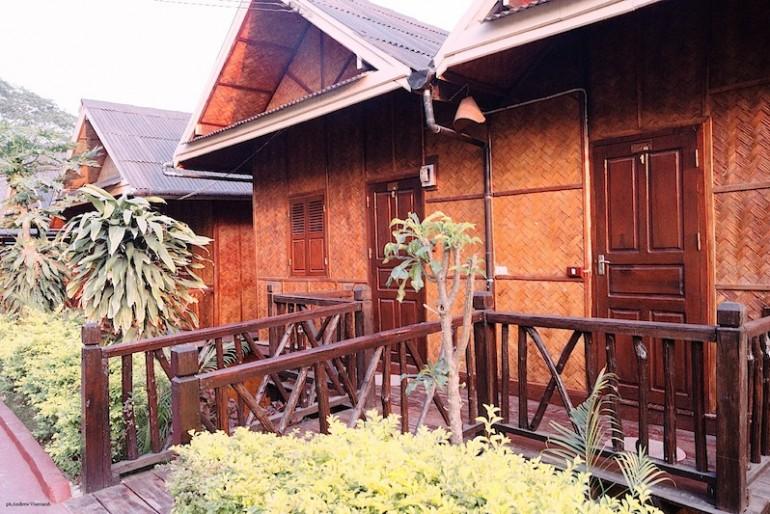 Mekong Riverside Lodge bungalows