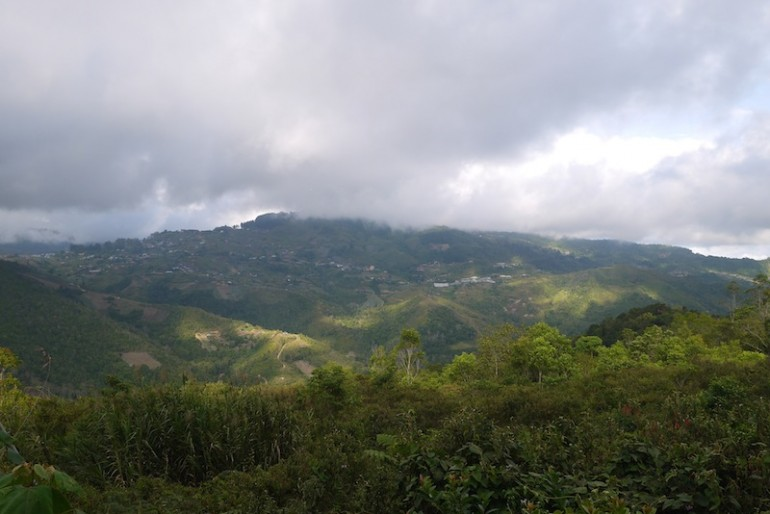 Kundasang View from the farmstay