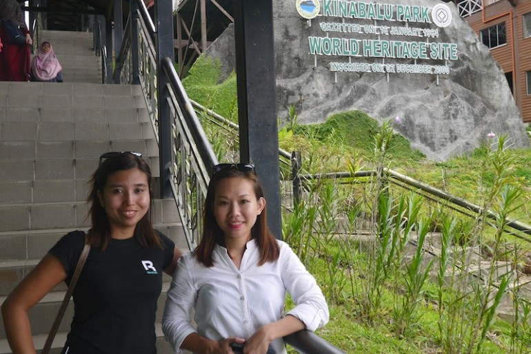 Lonnie and I at Kinabalu National Park