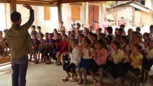 Community Learning International kids