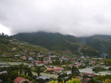 Kundasang, a town in the clouds