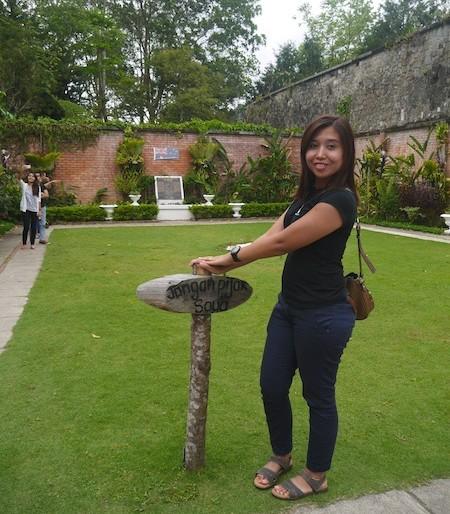Me at the Australia garden