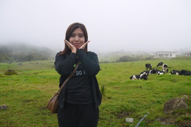 Me at the farm