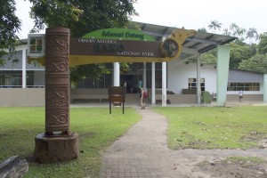 Bako National Park Registration Building