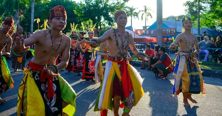 Dayak traditional dances