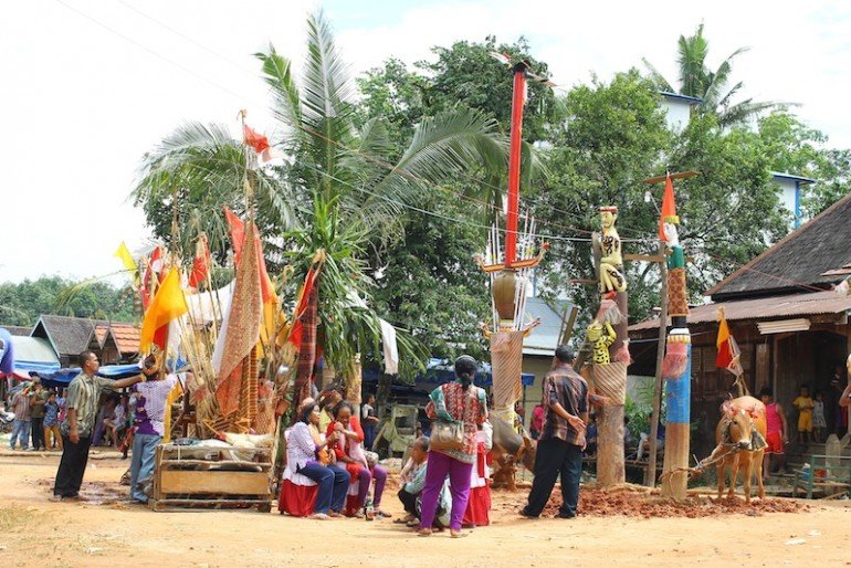 Tiwah Traditional Ceremony