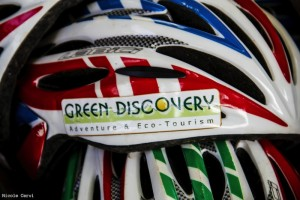 Green Discovery helmets