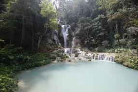 Bicycle Tour to Kuang Si Waterfall