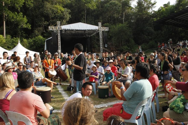 1drum.org gather the crowd