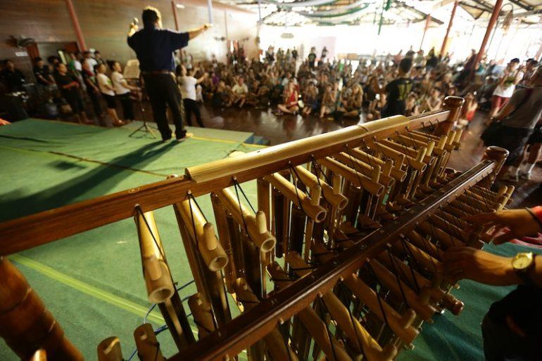 Rainforest World Music Festival workshop
