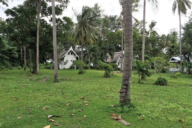 Approximately one rai or 1600sqm of land