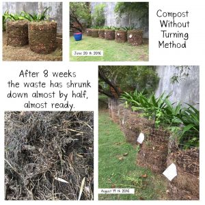 Composting without turning 1