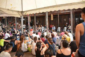 At one of Rainforest World Music Festival workshops