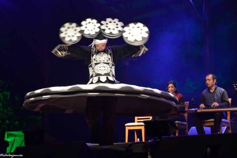 Dancer Ahmad Alkhatib unrelenting spinning to ecstasy