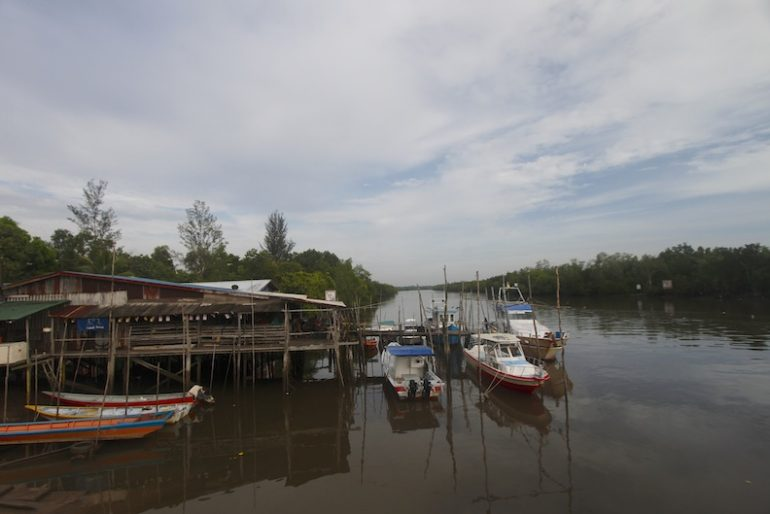 Samariang jetty