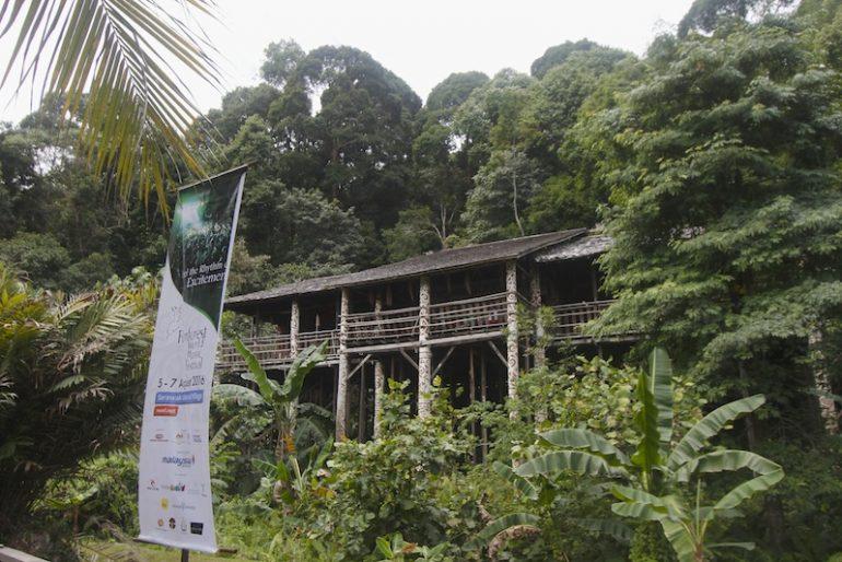 Longhouse at the Sarawak Cultural Center