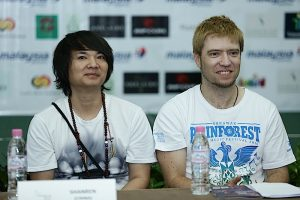 Shanren at the Rainforest World Music Festival press conference