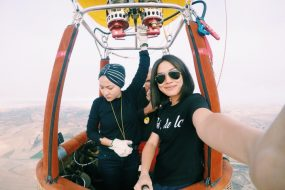 Around peninsular Malaysia in a balloon