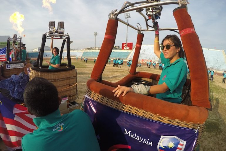 Representing Malaysia in Hat Yai International Balloon festival