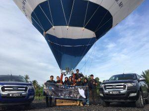 Lifeonair team with local hero