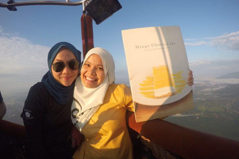 Pahang Local hero, Ms Farisha Mazlan. A surfer girl & owner Kula Cakes