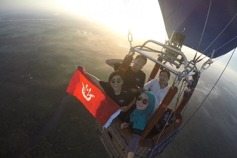 High above Kelantan grounds