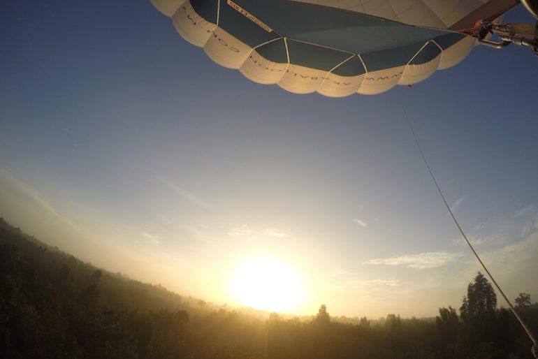 Sunrise at Solar Farm Pasir Mas, Kelantan