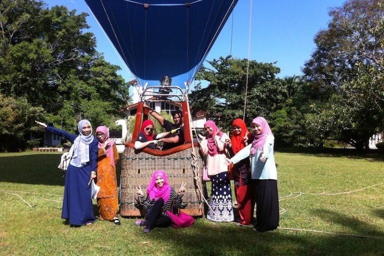 With teachers of Wadi Sofia International School, Kelantan