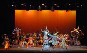 Khon performance