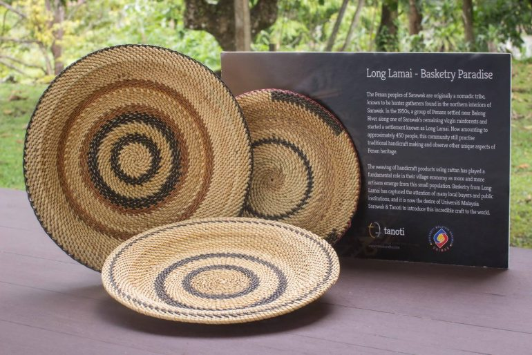 Long Lamai basketry