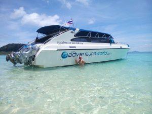 Siam Adventure World 3-engine speedboat