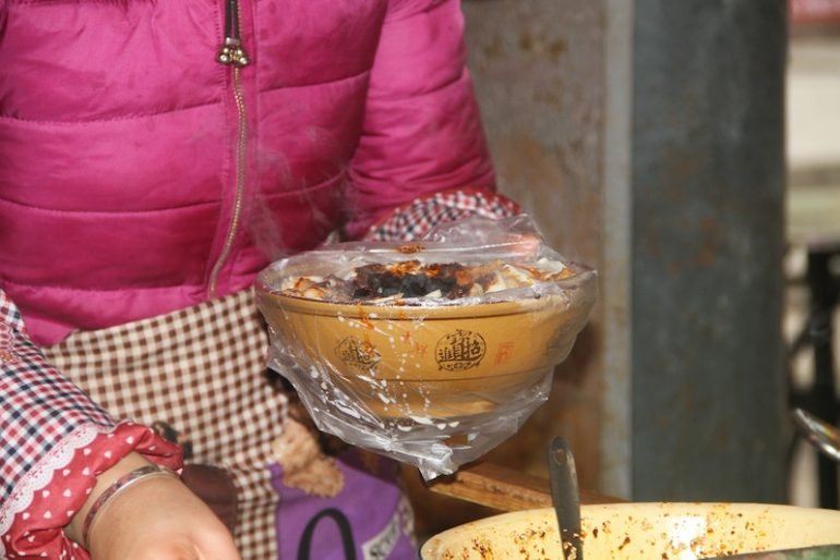 Bowl of noodle soup