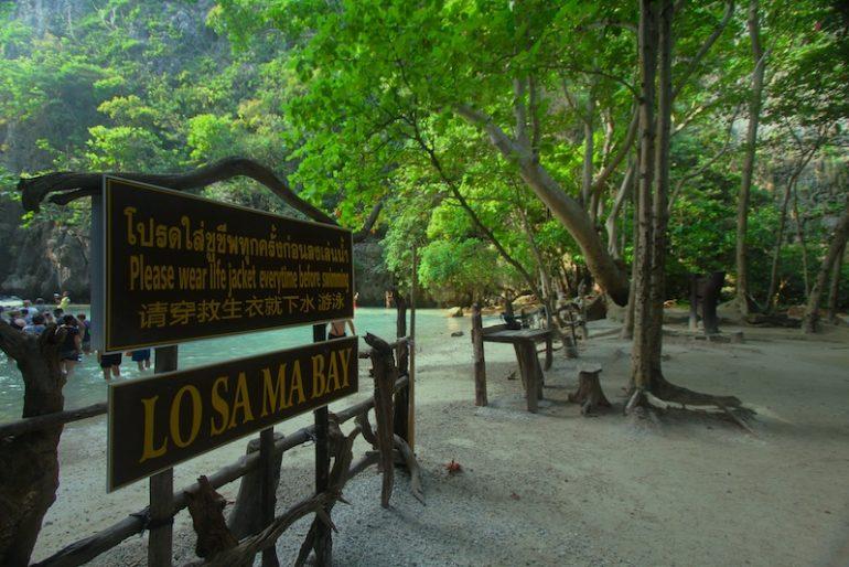 Losamah Bay interior