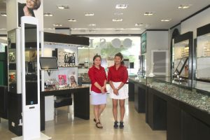 S.K. Optik lovely staff