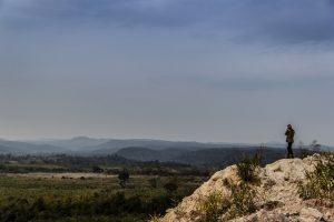 Observing the panorama at Tayicseua