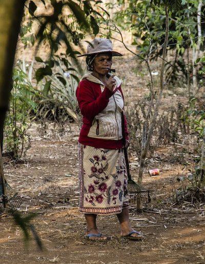 Local woman at Taycseua