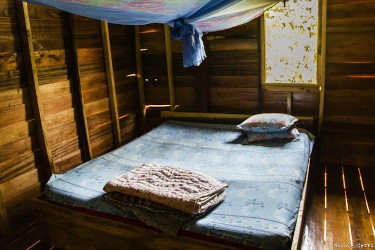 Tourist wooden bungalow