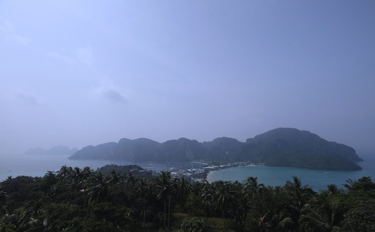 Phi Phi Don from the viewpoint