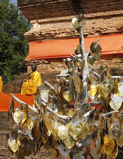 The golden and silver tree