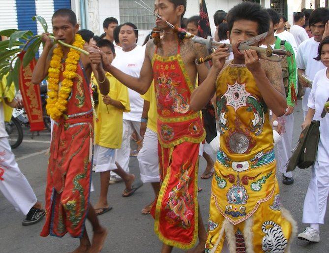 Procession at the Phuket vegetarian festival