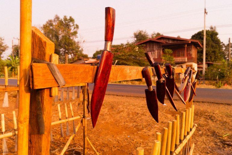 Locally made daggers