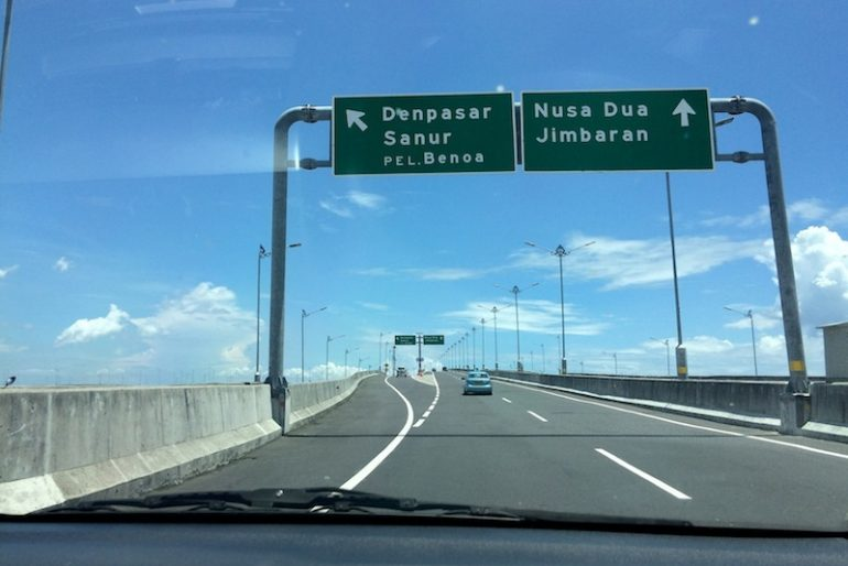 Bali Mandara tollway
