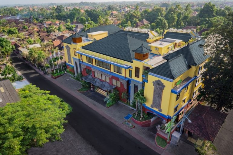 Front of SenS Hotel & Spa Ubud