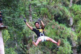 Fly high at Bali Treetop