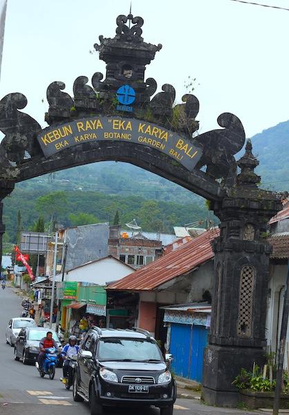 Bali Botanic Garden Asian Itinerary