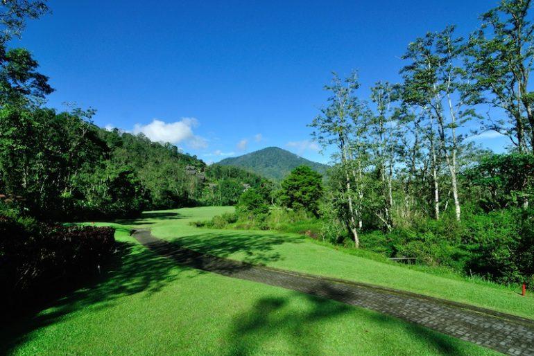 Hole 3 at Handara Golf & Resort Bali