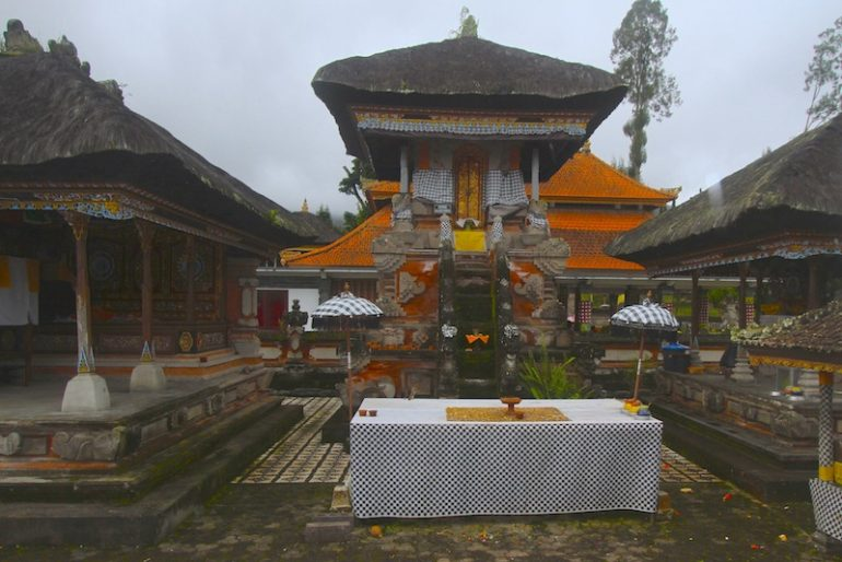 One of the temple features
