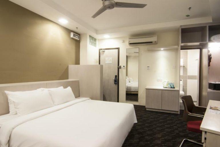 Inside double room