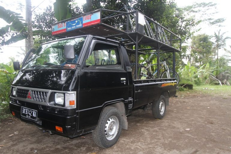 Support truck front